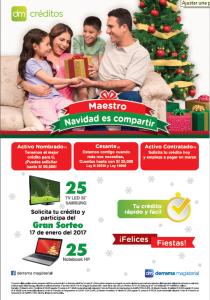 Campaña de Créditos por Navidad 2016