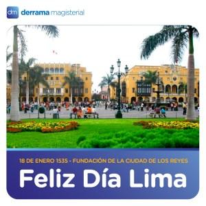 18 de enero: Lima celebra su cumpleaños 482