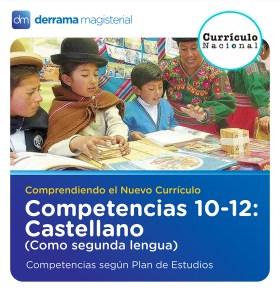 Competencias 10-12: Castellano como segunda lengua