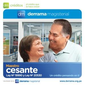 DM Créditos: Crédito para maestros cesantes aumenta a S/ 35,000