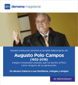 In Memoriam: Augusto Polo Campos (1932-2018)