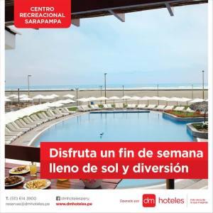 DM Hoteles: Pasa un verano inolvidable en nuestro Centro Recreacional Sarapampa (Asia, Lima)