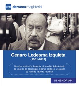 In Memoriam: Genaro Ledesma Izquieta (1931-2018)