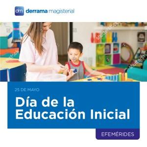 25 de mayo: Día de la Educación Inicial en el Perú