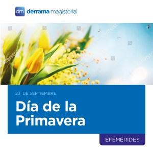 23 de septiembre: Día de la Primavera y la Juventud