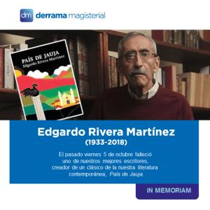 In Memoriam: Edgardo Rivera Martínez (1933-2018)