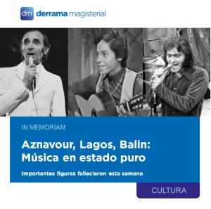 In Memoriam: Tres importantes músicos fallecieron esta semana