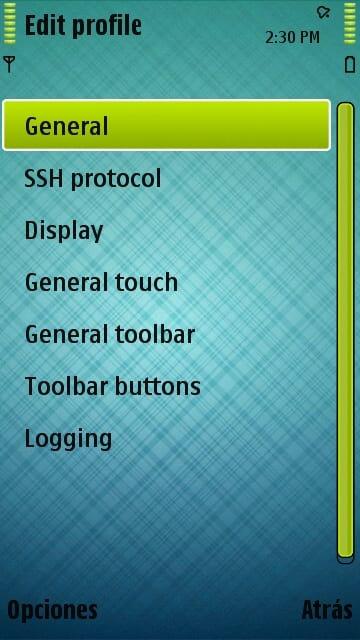 symbian ssh server