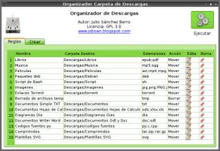 Organizador Carpeta de Descargas