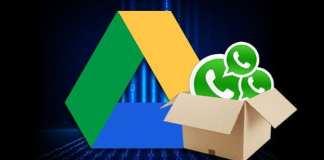 extraer respaldo de WhatsApp en Google Drive