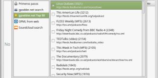 cliente de podcast para linux