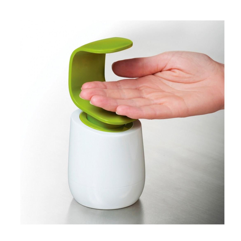 Distributeur-de-savon-gris-c-pump-joseph-joseph-detail