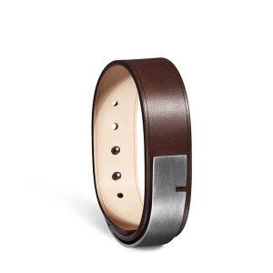 Bracelet-homme-u-turn-19-chocolat-acier-ursul