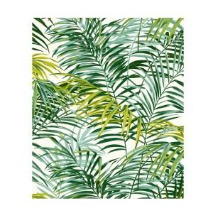 Tissu-palm-spring-vert