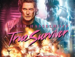 david-hasselhoff newest music video with Kung Fury