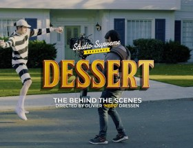 Romeo Elvis, Dessert, Making-of, Los Angeles, Clip video, Making-of, Olivier Hero Dressen, Behind the scenes, bts, Hollywood, clip video