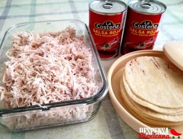 receta sin gluten lasaña azteca