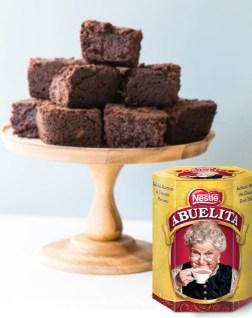 receta de brownie picante