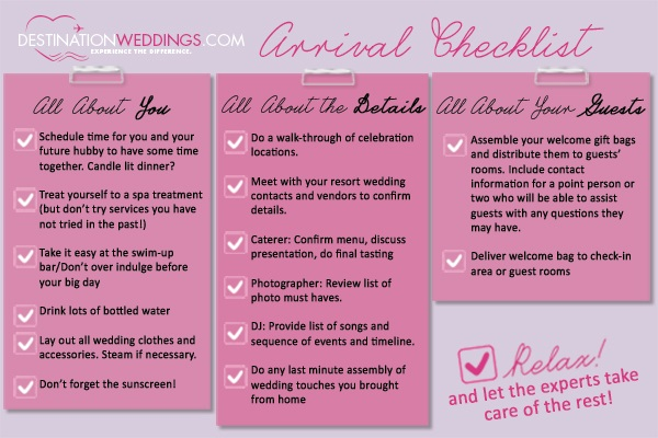 Wit & Wisdom: A Must-have Bridal Checklist