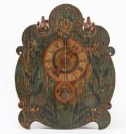 Holzräderuhr 7