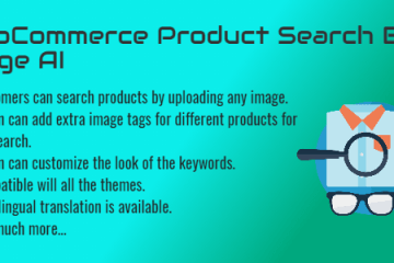 WooCommerce Product Search By Image AI