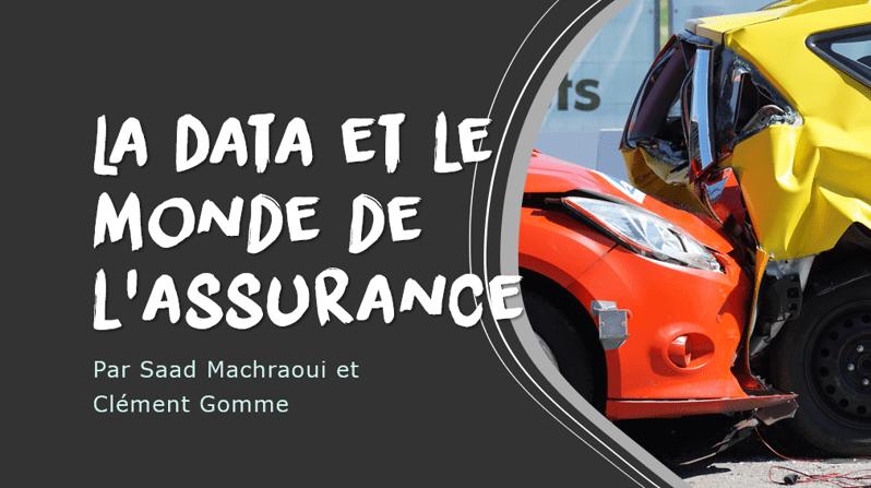 La Data et le monde de l'assurance