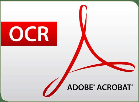 Adobe Acrobat OCR