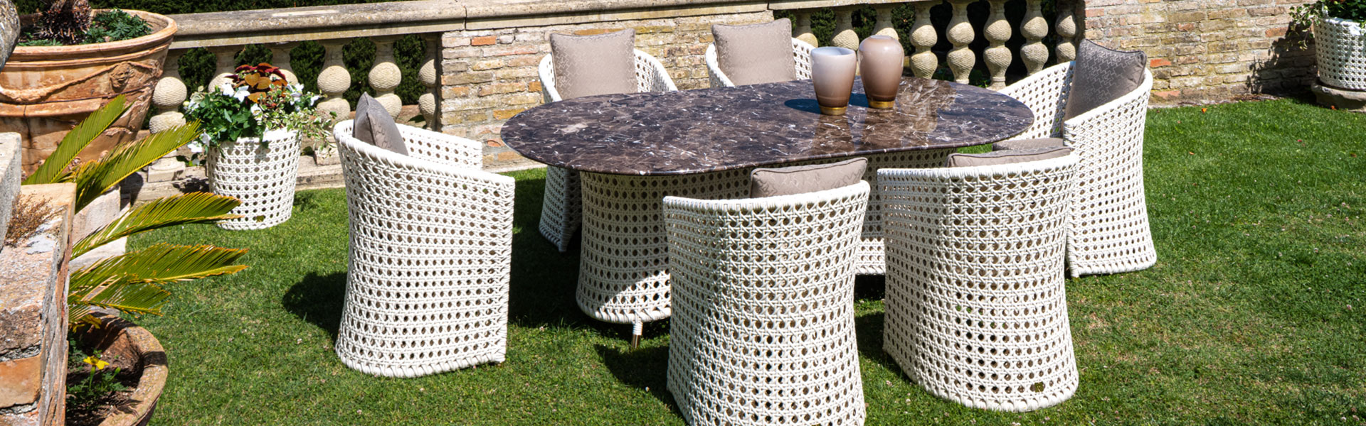 customized outdoor furniture for a