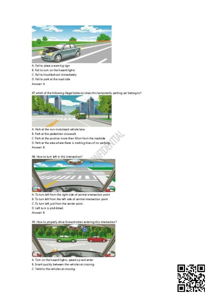 2014_Chinese_Driving_Theory_Test_Question_Bank_Page_041