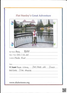 Flat Anna Letter Page 1