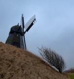 Holländerwindmühle in Dänemark