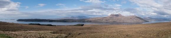 Blick über Little Loch Broom