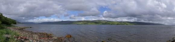 """""""Unsere"""" Loch View :-)"""