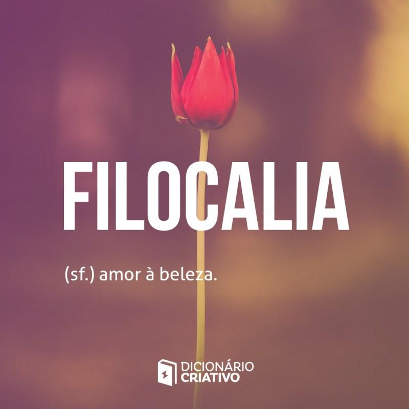 filocalia palavra de amor