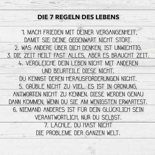 regeln