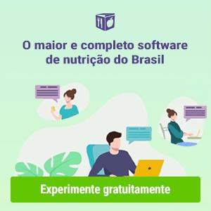 o melhor software de nutrição do Brasil