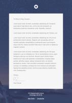 Pook Stationery Responsive HTML newsletter template