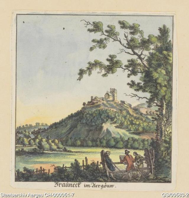 GS/00583-2, Brunegg, ca. 1700 - ca. 1793, Artist: