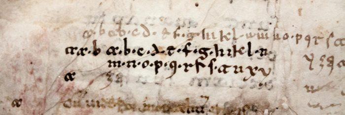 Sample of Beneventan script