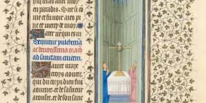 Belles Heures of Jean de France, Duc de Berry, f.93r, Hours of the Cross