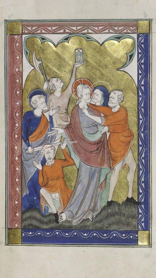 Cambridge, Corpus Christi College, MS 053: The Peterborough Psalter and Bestiary. 12r.