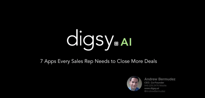 Webinar: 7 Apps Every Sales Rep Needs to Use to Close More Deals