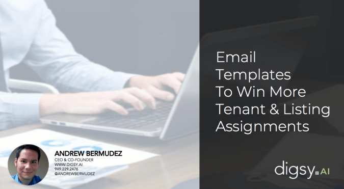 Email Templates for commercial real estate