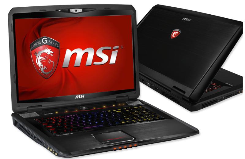laptop khusus untuk bermain game ini dilengkapi dengan prosesor intel core i7 untuk ram laptop gaming msi
