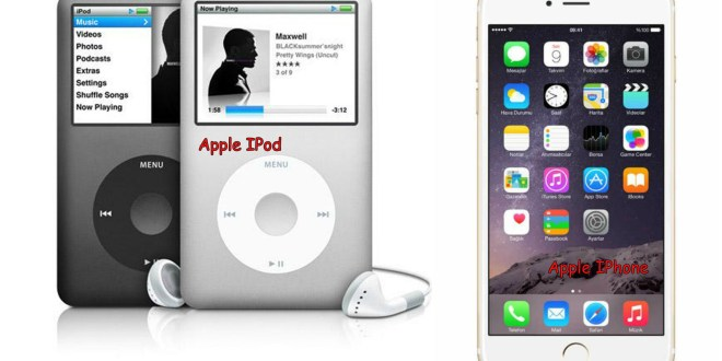 Perbedaan Apple iPod dan Apple iPhone