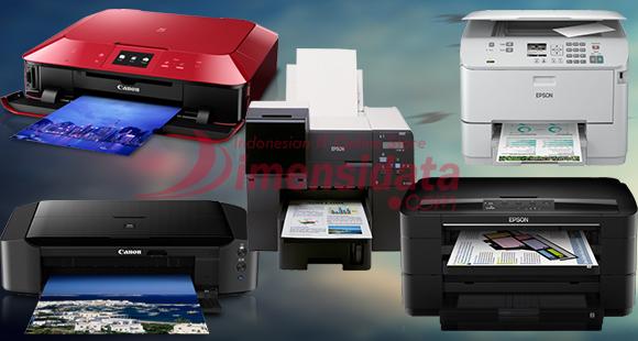 5 Daftar Printer Inkjet Terbaik harga murah