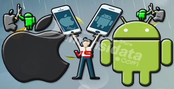 Inilah Keunggulan Smartphone iPhone vs Android
