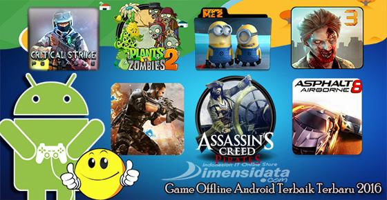 Rekomendasi Game Offline Android Gratis Terbaik Terbaru
