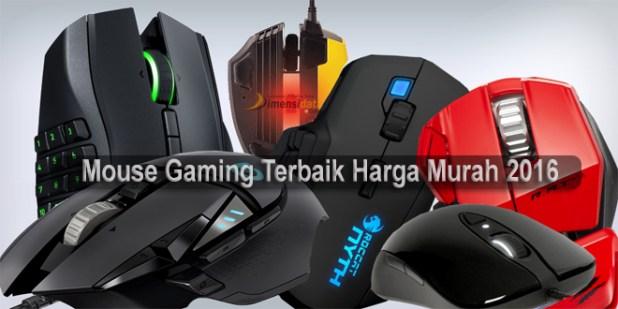 Mouse Gaming paling bagus untuk gaming harga murah 2016