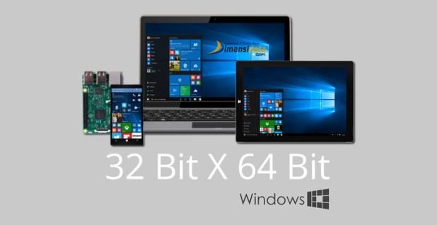 Pengertian dan Perbedaan OS Windows 32 Bit dan Windows 64 Bit